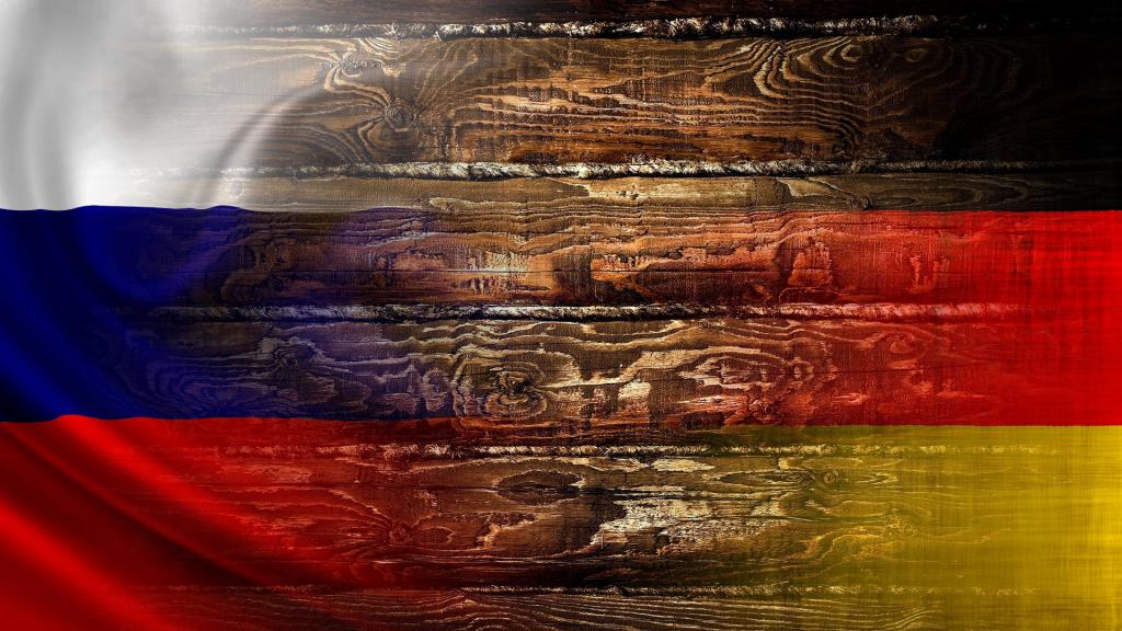 Сопровождающая картинка к статье об экспорте из России в Германию изделий из дерева